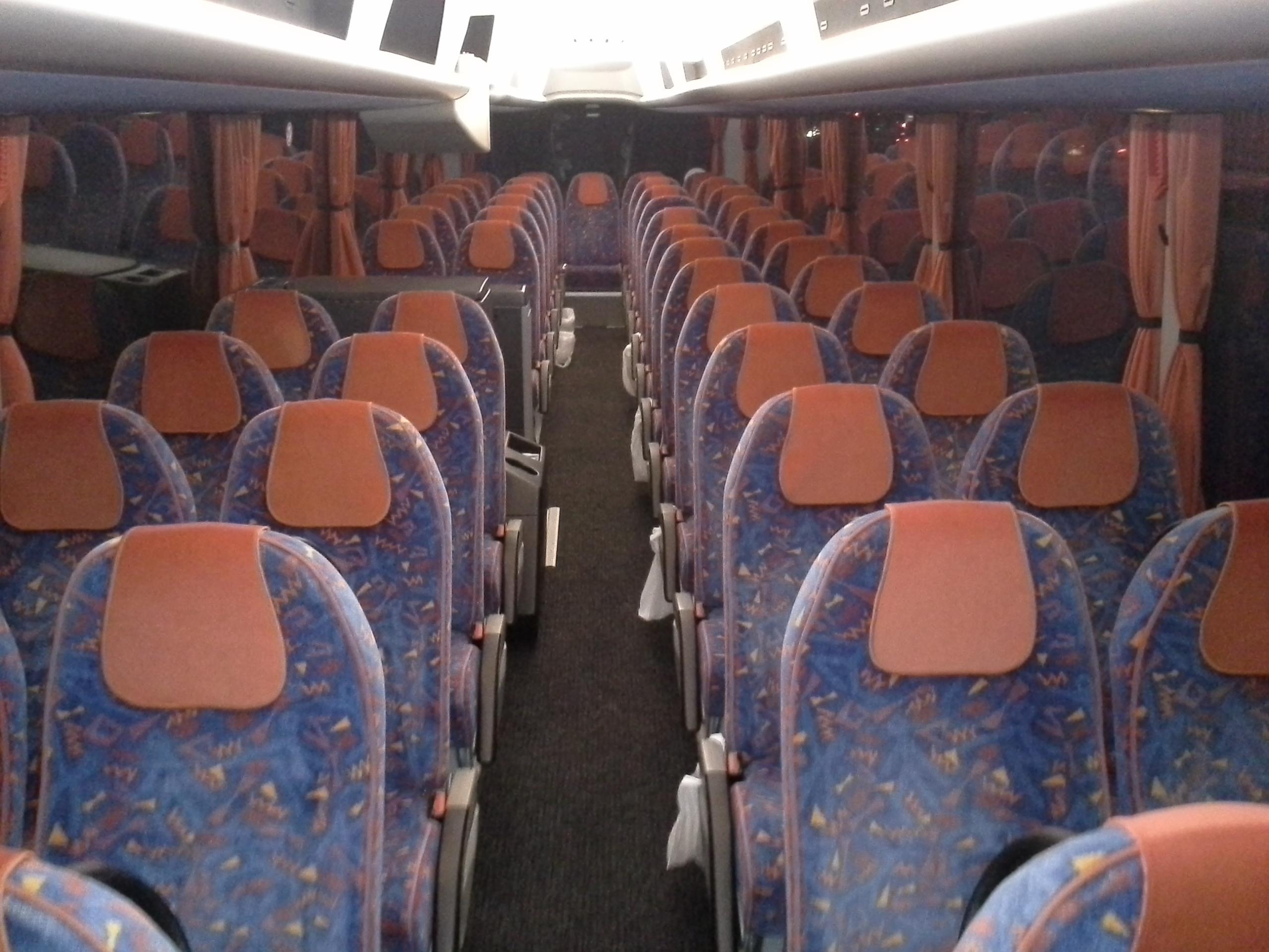 Bus van binnen