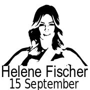 Helene Fischer button